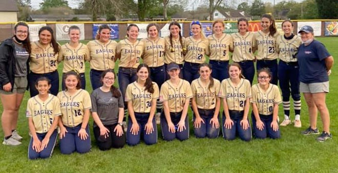 The St. John softball team ended its 2021 season 15-5 after a regional round loss at Riverside Academy on April 22.