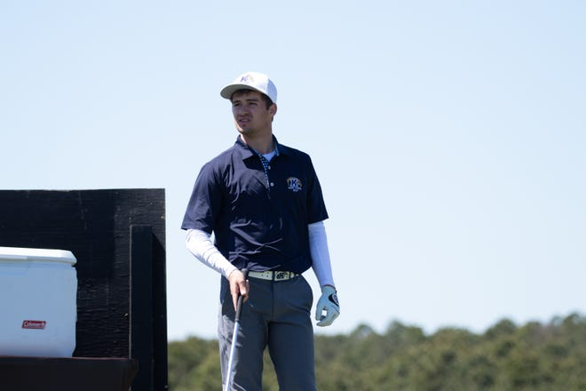 Kent State sophomore Cade Breitenstine led the team with a 1-under 70 in the second round of the NCAA Regional held in Kingston Springs, Tenn.