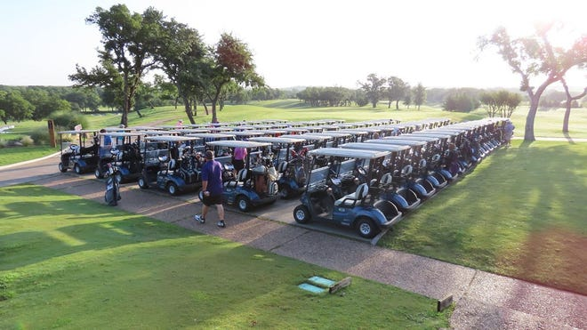 The 30th Annual Perry Elliott Texan Club Plowboy Shootout presented by First Financial Bank is open for registration. The golf tournament will return once again to Squaw Creek Golf Course in Willow Park on Friday, June 25 and all proceeds go to benefit the Tarleton Athletics scholarship fund.