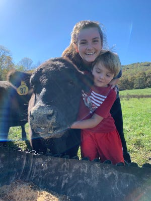 Kylie Bradley has won the People Helping People scholarship for her work with local farmers and with disabled children.