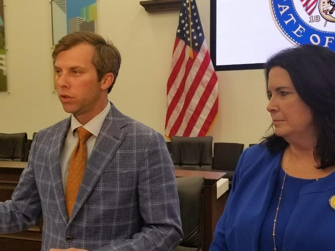 House budget chair Jay Trumbull, R-Panama City, and Senate counterpart Sen. Kelli Stargel, R-Lakeland, have finished work on a roughly $100 billion state budget.
