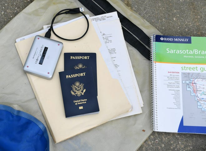 Personal documents: Whether you stay or go, make sure you save your important documents. Back up your computer on external hard drives and digitize important documents and family photos.