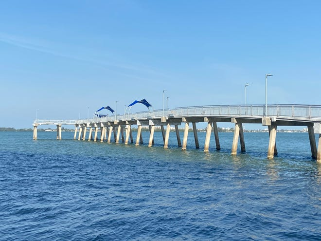 The 42-year-old Tony Saprito Fishing Pier has been closed since November as it underwent a major $1.4 million upgrade and improvement project.