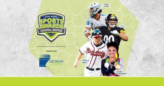 Chipper Jones, T.J. Watt, Laurie Hernandez, Paul Rabil, join the growing list of legendary athletes presenting at the Coastal Empire High School Sports Awards.