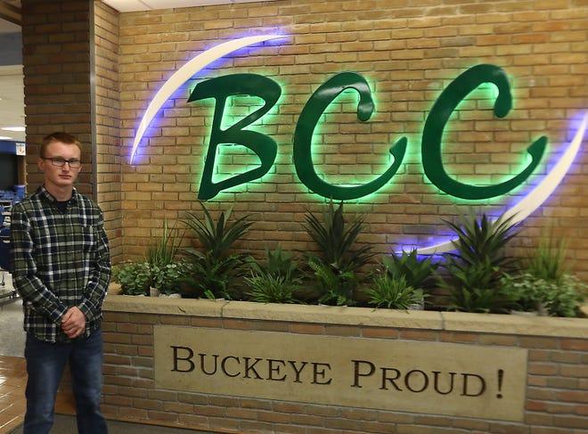 Sherrodsville's Kaden Webber, a graduating Buckeye Career Center senior, is headed to the U.S. Navy, where he will train in the advanced electronics/computer field.