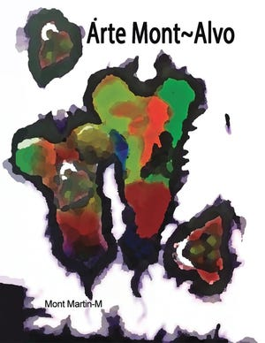Mont Martin-Montalvo, a Mary Esther resident formerly of Lynn Haven, recently published this book of his art.