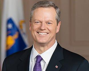 Massachusetts Gov. Charlie Baker.