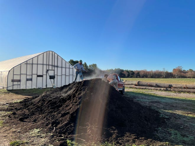 At Freedom Food Farm in Raynham, Massachusetts, farmer Chuck Currie and his crew are preparing for summer, with a new greenhouse, thousands of seeds planted and the first new lambs of spring.