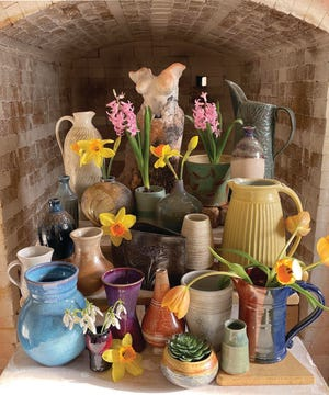 The potters at Purple Sage Pottery , 3 Mechanic St., Merrimac, will open their studio to the public and share their latest creations from 10 a.m. to 5 p.m. May 1, with a rain date of May 2.