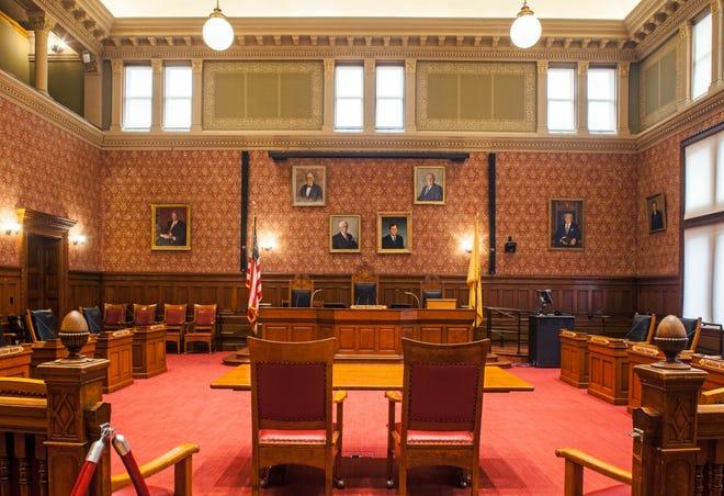 Sullivan Chamber in Cambridge City Hall
