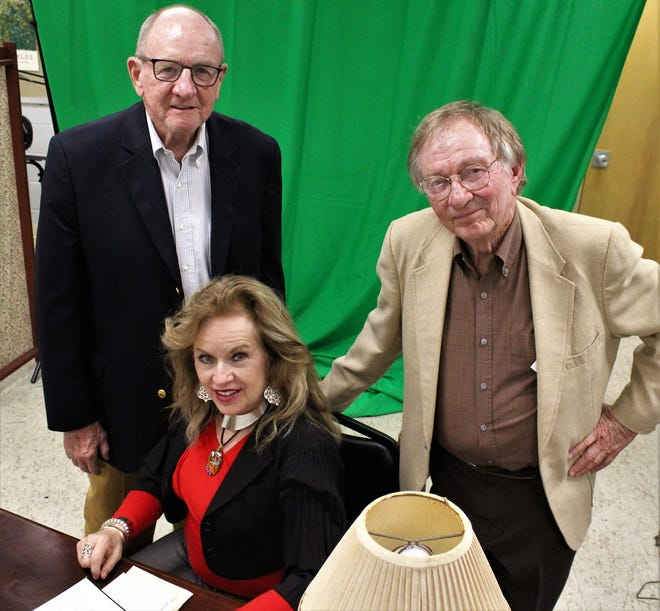 """Retired Dr. Stephen Faehnle, former state Rep. Susan King and director Bob Straus bring years of stage experience to """"Love Letters,"""" the first of three McMurry University summer shows, opening May 13. The trio has rehearsed in classrooms but will be in Matthews Auditorium for the show."""
