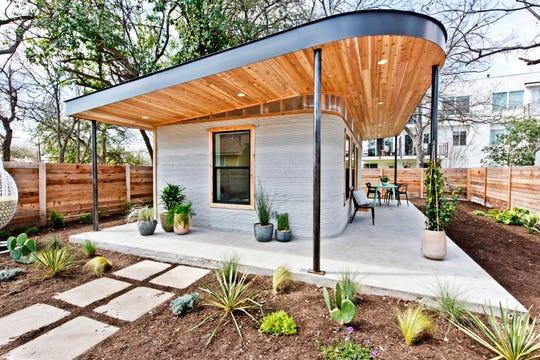 A 3D home in Austin, Texas.