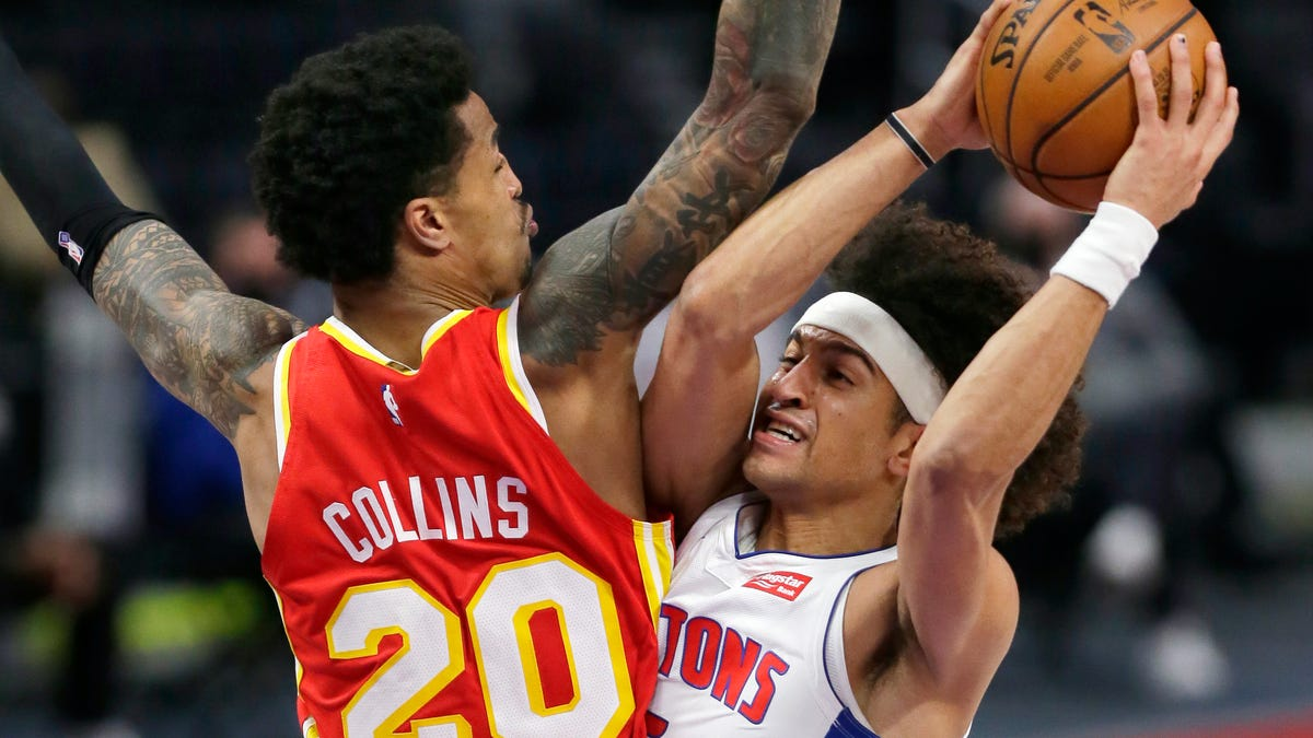 'Detroit just played aggressive': Pistons bounce back with 100-86 win over Hawks 1