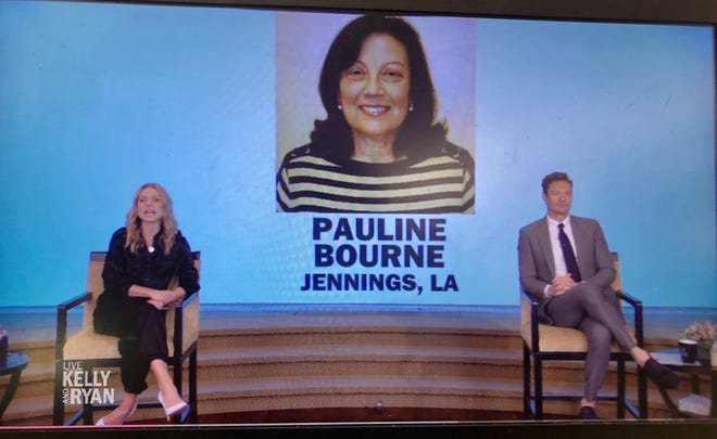 """Pauline Bourne, a kindergarten teacher at James Ward Elementary School in Jennings, i's one of 10 semifinalists for Live's Top Teacher Search put on by """"Live Kelly and Ryan"""" and Sonic. She is the only one from Louisiana, competing against educators from across the country for a grand prize worth $20,000."""