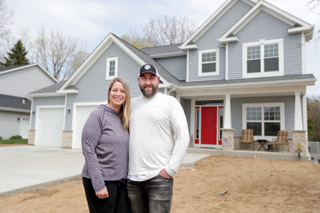 "Alexa and Jeff Schmitz recently sold a house on the west side of Milwaukee and then bought a ""forever home"" in Caledonia. The house they sold received about two dozen offers and went for about $20,000 over asking price. Jeff bought the three-bedroom house in 2012 for $115,000. He made modest updates like upgrading the fence, replacing the water heater and air conditioning. It sold for $190,000. They bought a newly built home in Caledonia with five bedrooms and 2 1/2 bathrooms for $359,000."