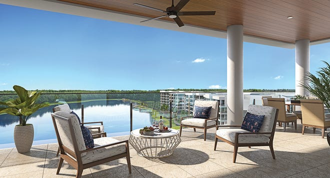 The Clubhouse residences have some of the largest lanais in Southwest Florida and offer the longest, most picturesque views in the Life Plan Community.