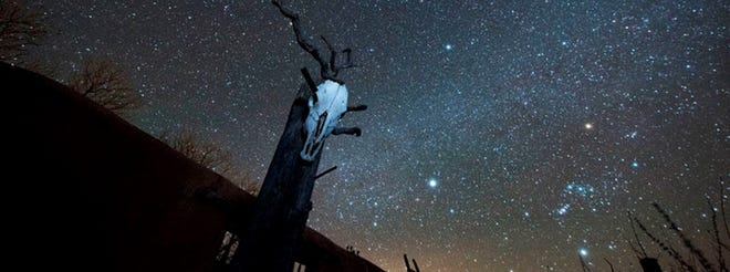 Dark skies over southwestern New Mexico.