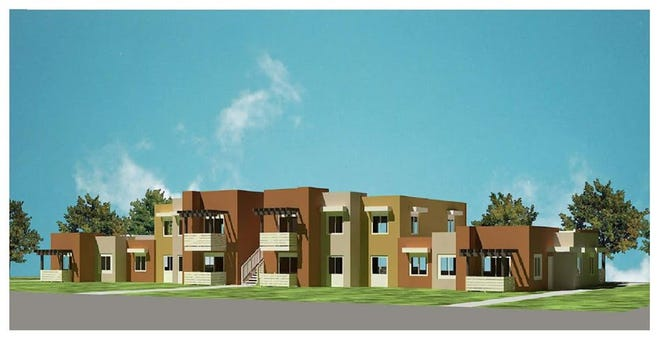 Graphic depicting the new Villa Hermosa affordable housing in Indio.