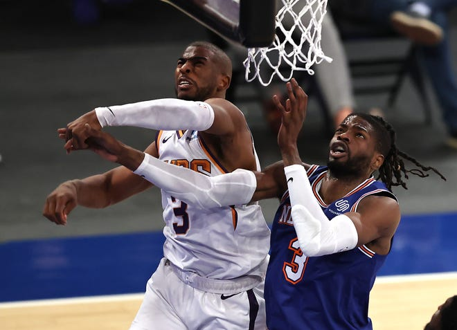 Could the New York Knicks attempt to pry Chris Paul away from the Phoenix Suns?
