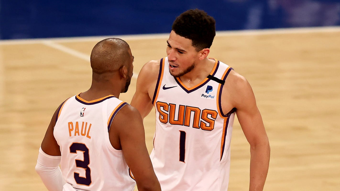 Phoenix Suns win 2021 NBA championship? Oddsmakers, projections share NBA title odds