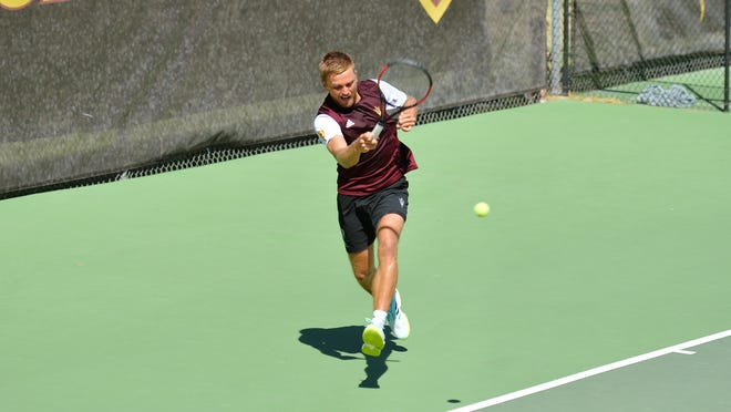 Nathan Ponwith of Scottsdale is 14-7 at No. 1 singles for ASU men's tennis, which reach the final at the Pac-12 Championships before losing 4-1 to USC.