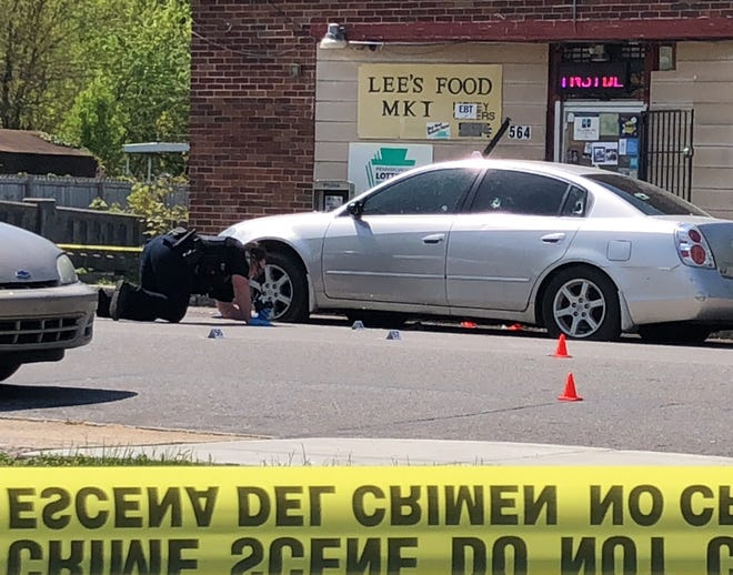 The shooting happened Tuesday morningin the 500 block of North Pershing Avenue, according to York County 911.April 27, 2021.