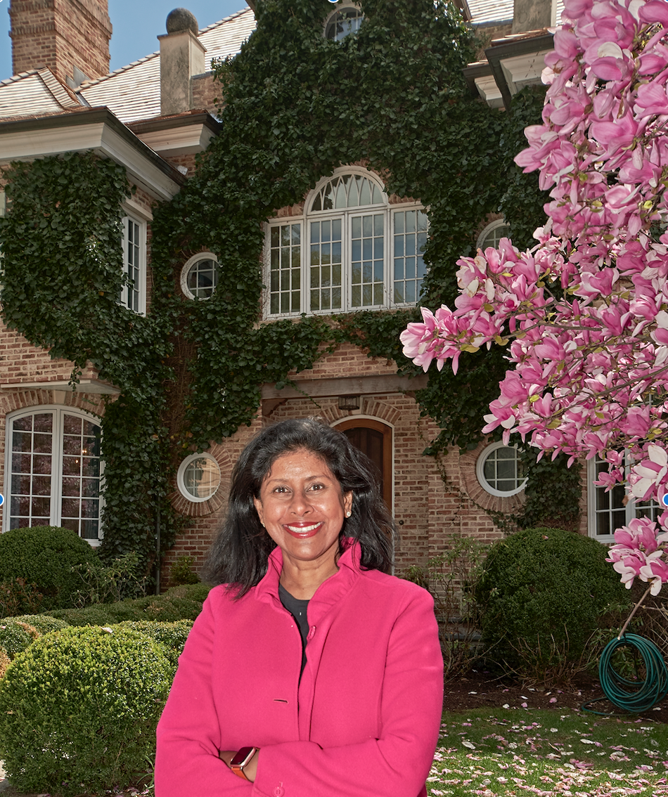 Usha Subramaniam, a real estate broker for Compass, listed a home in Mount Kisco, N.Y. She says pricier homes used to linger on the market for years.