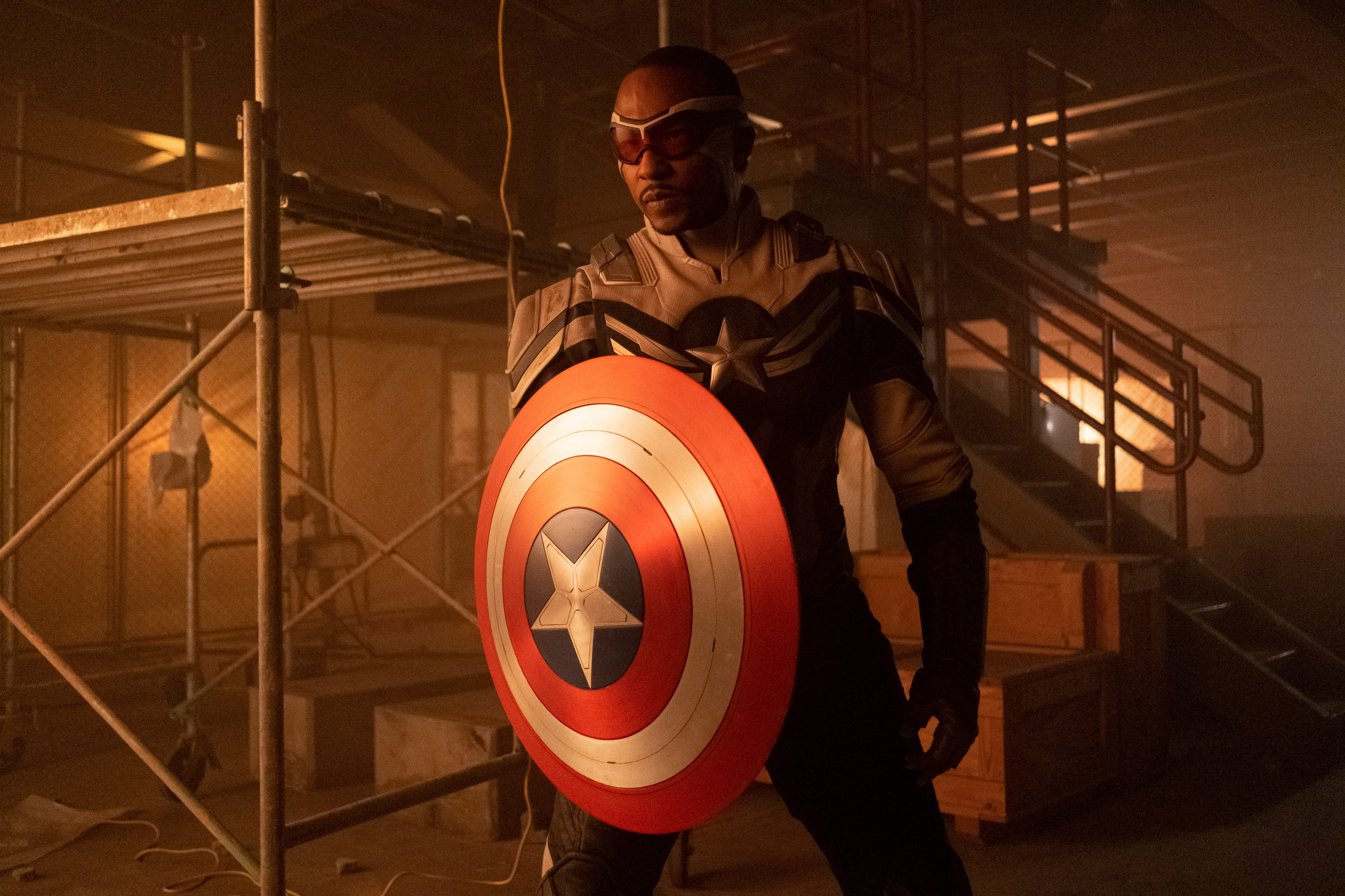 Anthony Mackie, the new Captain America, says getting his own movie  would be everything