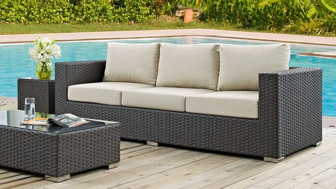 Vibrant and luxurious patio furniture is available for major discounts at Wayfair.