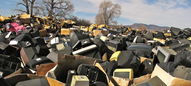 The United States was the second biggest contributor to e-waste in 2019, behind China and ahead of India.