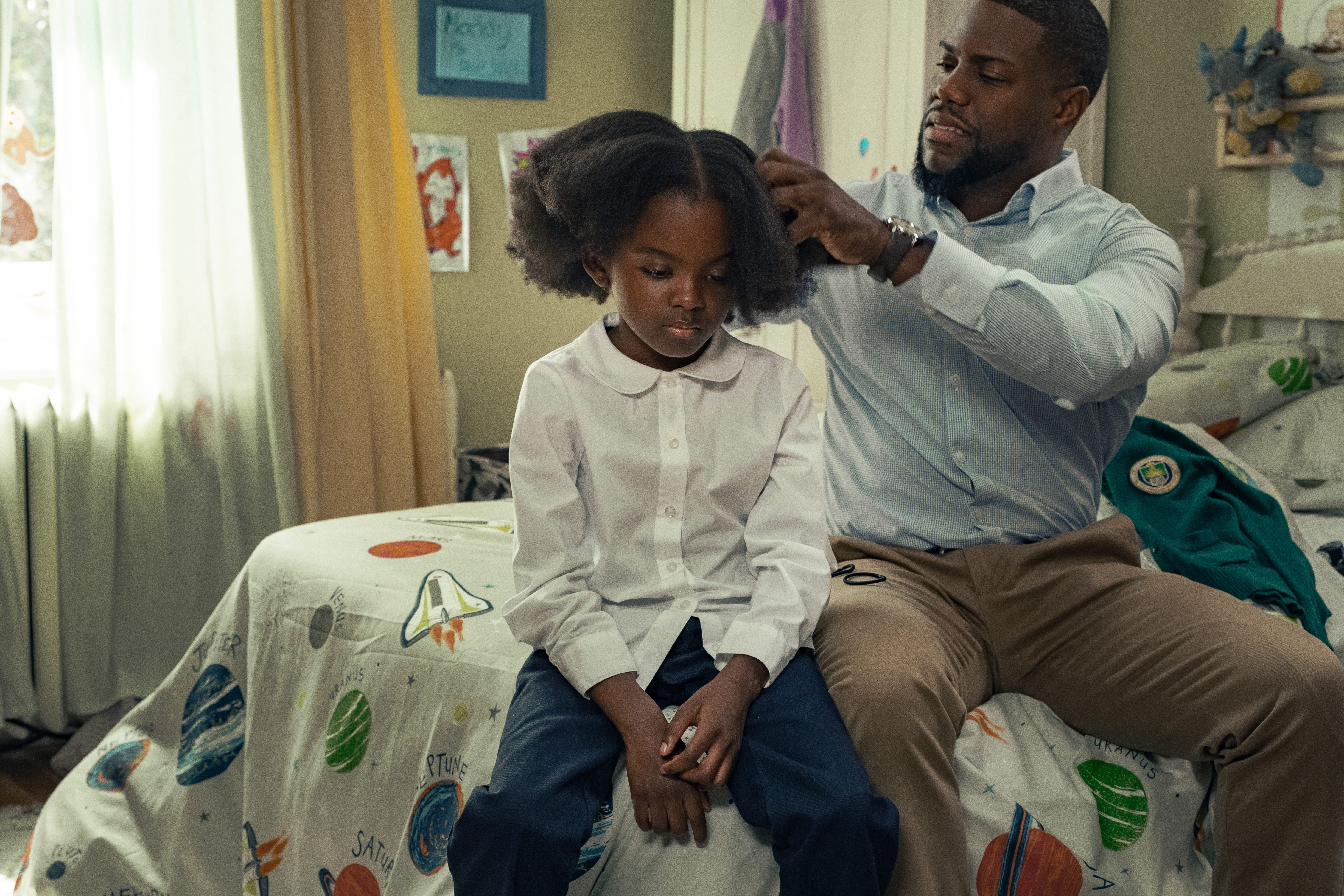 Set in Boston, Kevin Hart s  Fatherhood  is a story of grief and loss