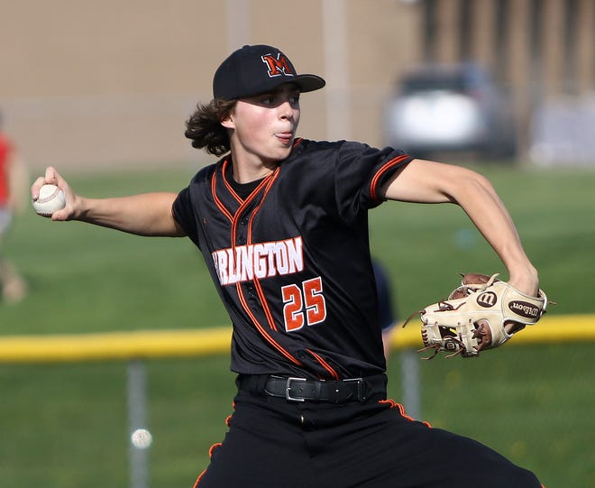 Marlington pitcher Tommy Skelding led the Dukes with a six wins. He will be a junior next season.
