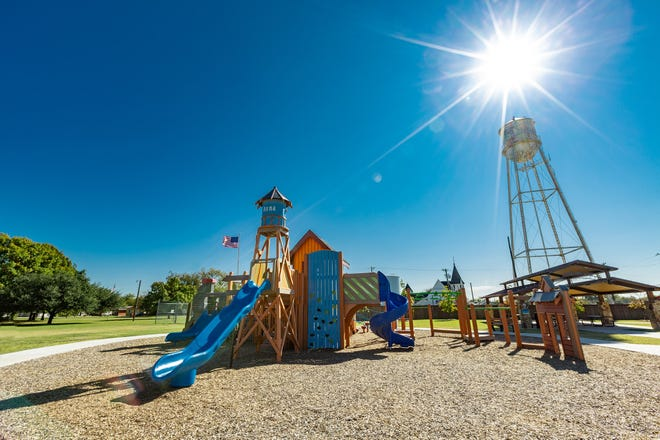 The city of Anna would be able to fund more park improvement projects like the one at Sherley Heritage Park if Bond Proposition C is approved.