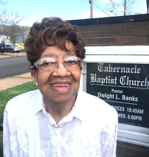 At age 86, Minister Esther White eagerly gives God the glory - for her good health and abilities to continue as a viable member of the human race.