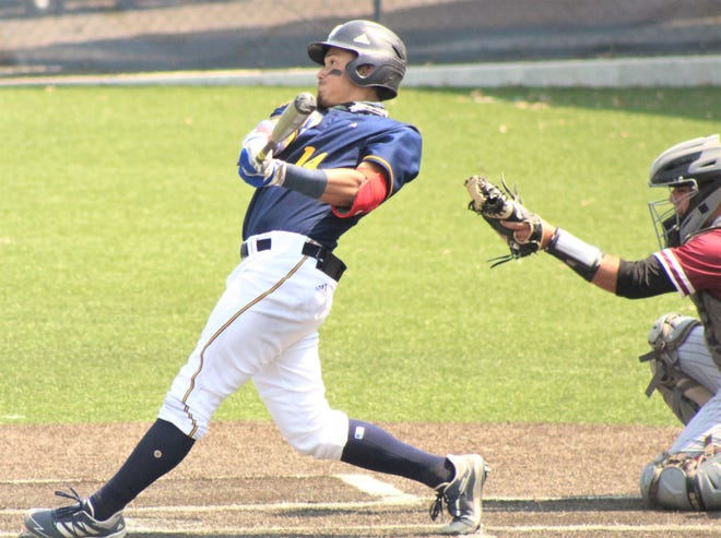 Jesus Rojas has swung a mighty bat for Oklahoma Wesleyan University in recent games.