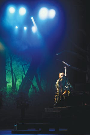 """Emma Hatfield lets her voice be heard for """"Into the Woods"""" at the Bartlesville Fine Arts Center."""