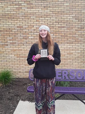 Ingersoll Middle School announced Amilia Oswald as the March recipient of the Steven R. Nagel Distinguished Student of the Month Award.