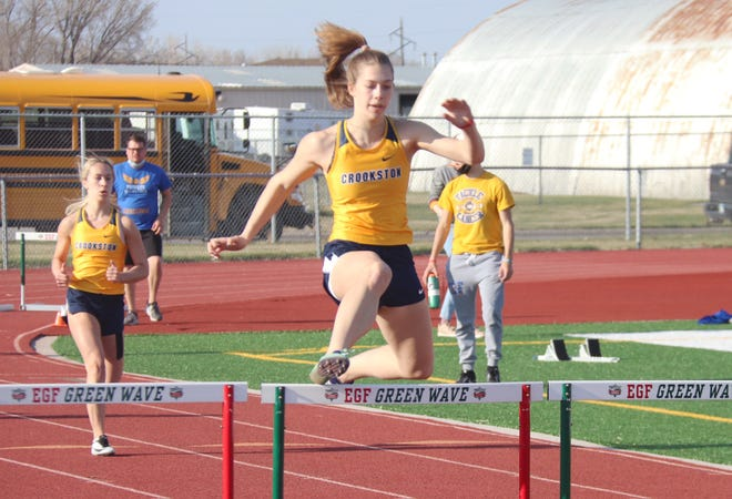 Emma Borowicz qualified for the state championship in the 300-meter hurdles as a sophomore in 2019, her first season competing in the event.