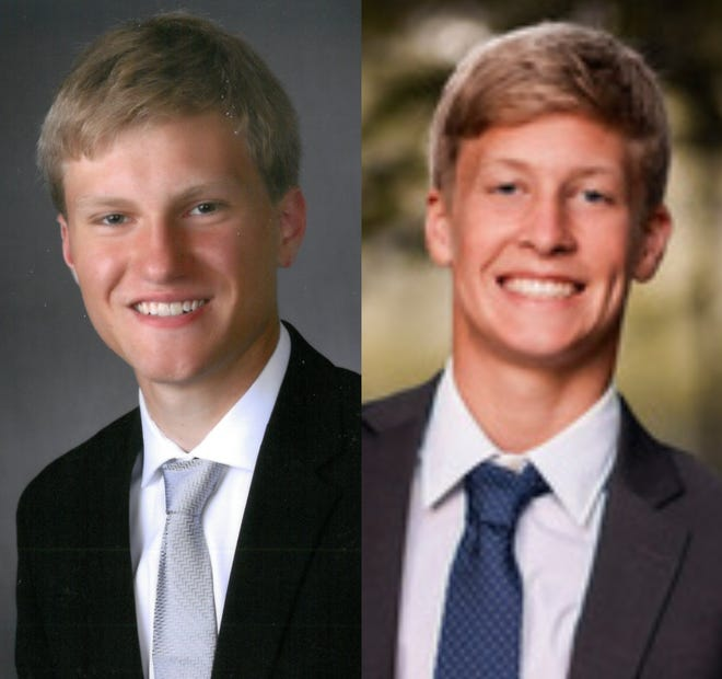 Karsten Isaacson (left) and Zach McGlynn (right)
