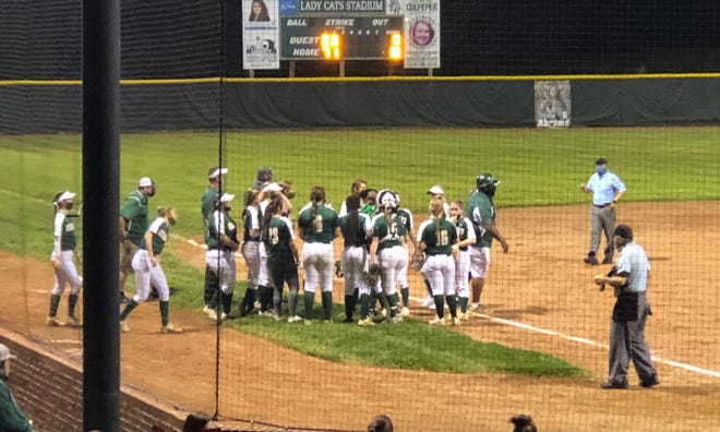 Eastern Randolph has won the PAC-7 softball championship. [Cecil Mock for The Courier-Tribune]