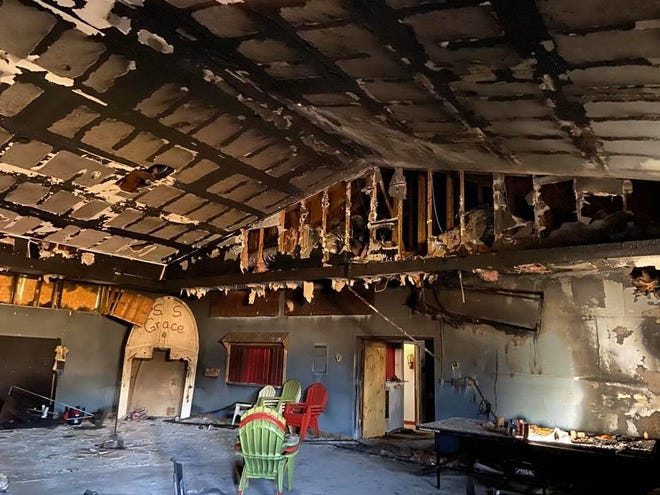 GraceWay Church's Youth Center was gutted during a Jan. 2020 fire.