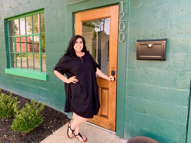 Mila Martinico, founder and chef of Mama Mila's, stands at the restaurant's new location on South Garden Street, which she hopes to open in late June.