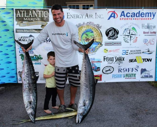 John Xynidis and son Mathis, of team Invested, were the overall winners of the Offshore Challenge.