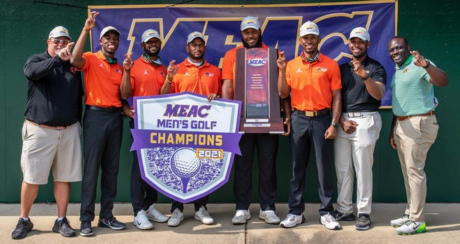 The Florida A&M golf team, which won its first MEAC title in history, will play in the PGA WORKS Collegiate Championship May 3-5 at the TPC Sawgrass.