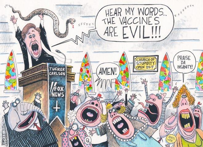 Today's editorial cartoon (April 29, 2021)