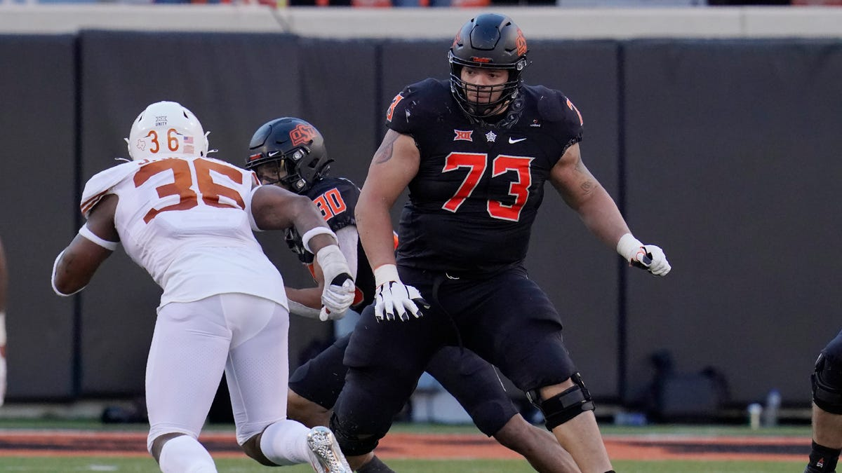 Oklahoma State football: NFL Draft outlook for Teven Jenkins, Tylan Wallace, Chuba Hubbard