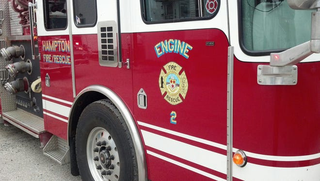 """A woman sustained """"serious"""" burn injuries during a small fire at 10 Epping Ave. Tuesday night at Hampton Beach."""