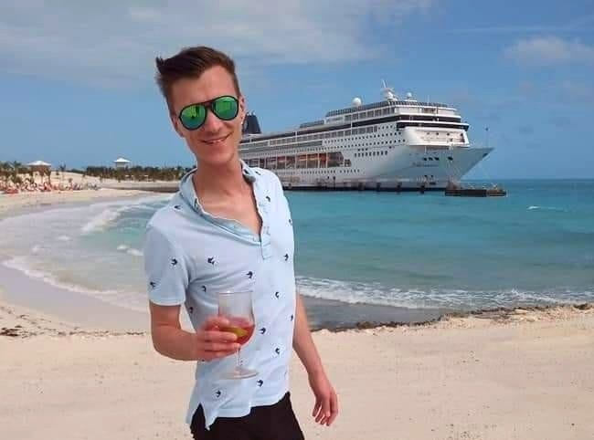 Dillon Guyer, a travel agent in Seacoast New Hampshire, has many trips planned for the next several months, including a few cruises.