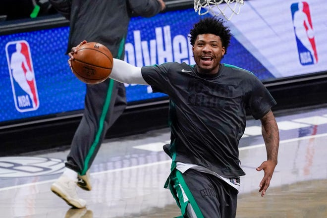 Boston Celtics guard Marcus Smart has been suspended for one game by the NBA after using threatening language toward a ref.