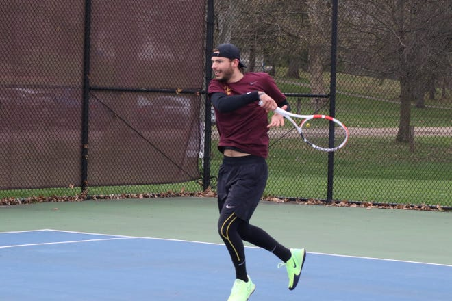 Walsh's Jakob Riglewski combined for 32 singles and doubles wins during the regular season.